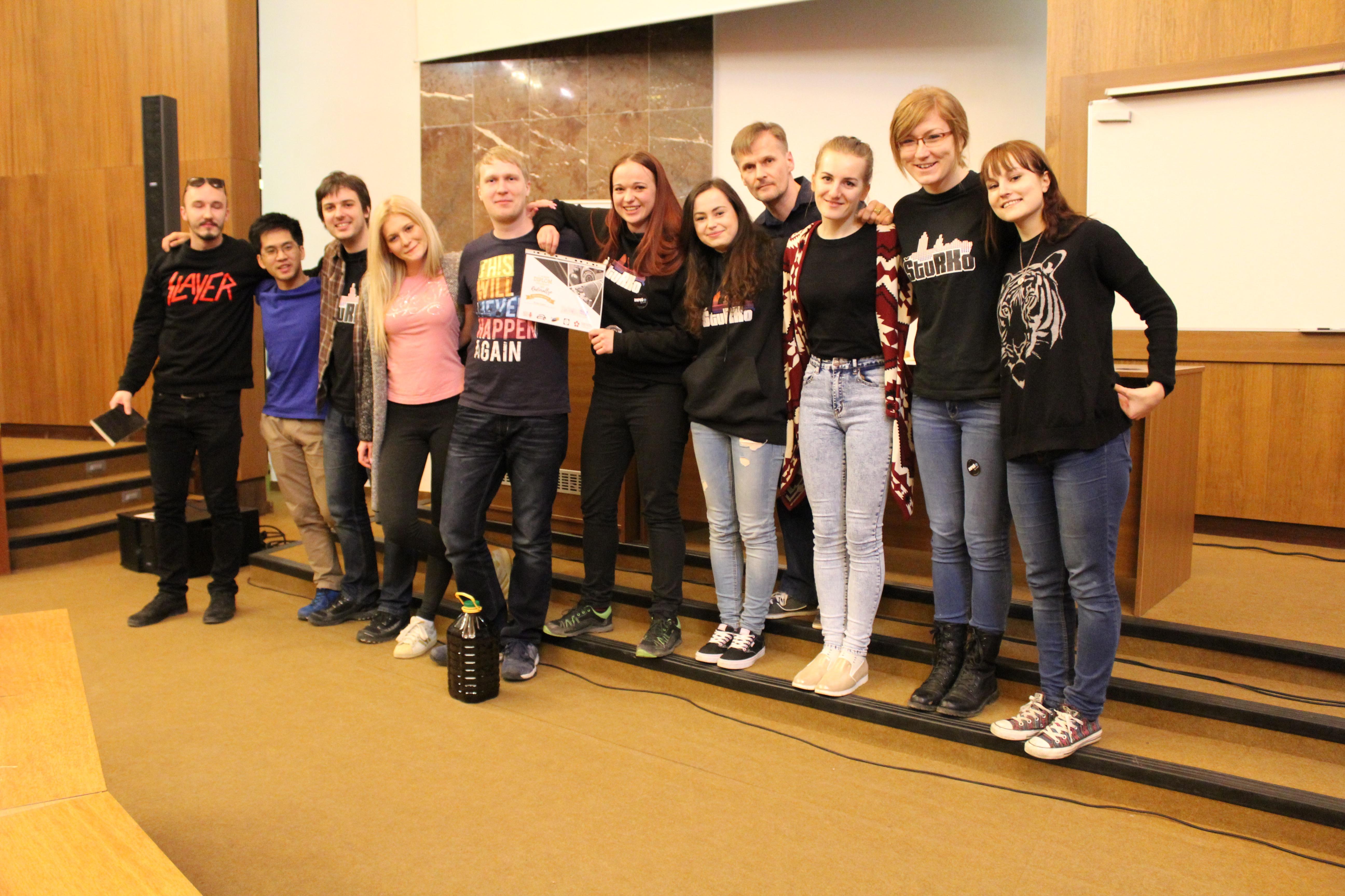 Víťazný tím Rádiorallye 2016 - ŠtuRKo
